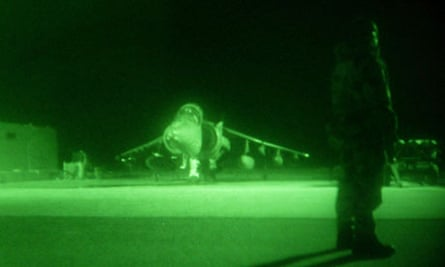 Iraq War Harrier GR7