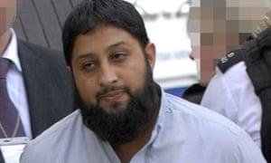 Suspected Al Qaeda leader Rangzieb Ahmed at London Heathrow Airport, Britain - 08 Sep 2007