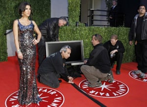 Oscars 2011: afterparties: Adrianna Costa