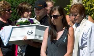 Christchurch earthquake funeral
