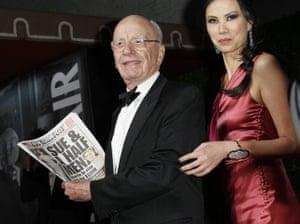Oscars 2011: afterparties: Rupert Murdoch
