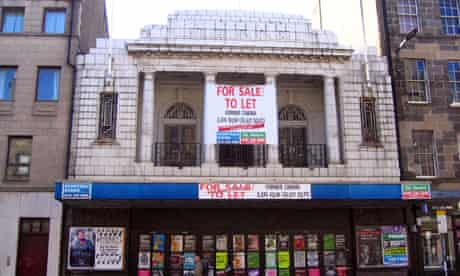 Campaigners hope the art deco facade will be preserved   pic: Michael MacLeod, guardian.co.uk