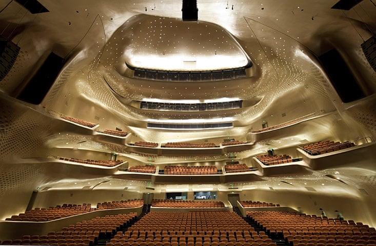 Guangzhou Oper House interior