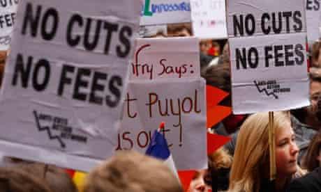 Glasgow University protests