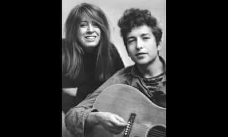 Suze Rotolo with Bob Dylan