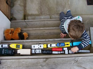 In pictures: play: toy car traffic jam