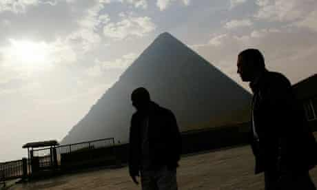 The Pyramids have been officially closed since street protests rocked Egypt