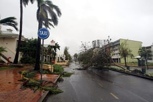Cyclone Yasi: Debris left behind on the streets of Townsville after Cyclone Yasi