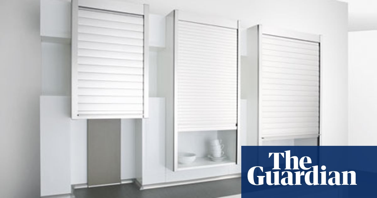 Kitchen Cabinet Roller Doors Space solves: Search for a kitchen cupboard with a rolling shutter