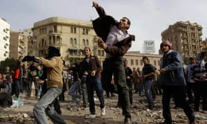 Anti-government protesters, Egypt