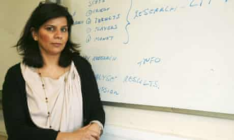 Sairah Shah, a former assistant head