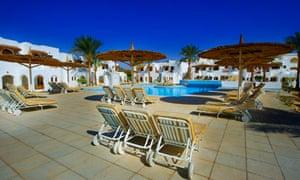 A holiday resort in Sharm el Sheikh