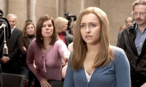 Hayden Panettiere as Amanda Knox in a US film about Meredith Kercher's murder