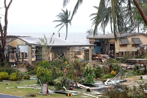 Cyclone Yasi: The aftermath of Cyclone Yasi after it hit Queensland