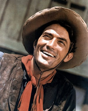 10 best: cowboys: Gregory Peck