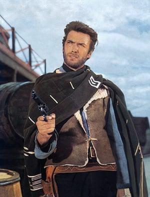 10 best: cowboys: Clint Eastwood