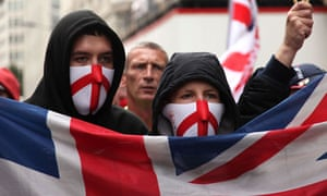 English Defence League protests are attracting an increasing number of young people