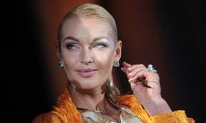 Anastasia Volochkova attends Moscow Premiere film festival