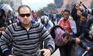Egypt protests: BBC, CNN and al-Jazeera journalists attacked