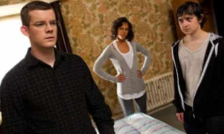 Being Human: Russell Tovey as George, Lenora Crichlow as Annie and Craig Roberts as Adam