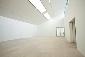 David Chipperfield: Interior of the The Turner Contemporary Gallery in Margate