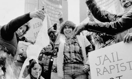 A feminist protest in Canada, 1979.