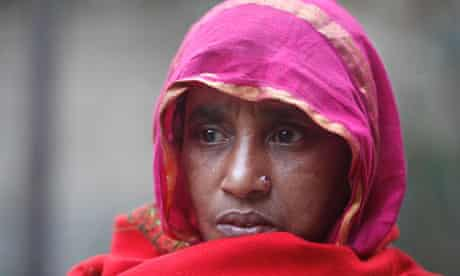 Bangladeshi whipping victim's mother