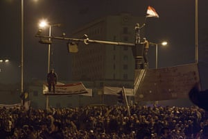 Battle for Tahrir Square: Sean Smith witnesses events in Tahrir Square