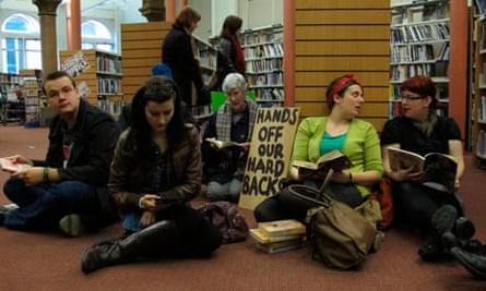Leeds library protest