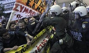 Greek demonstration 2010
