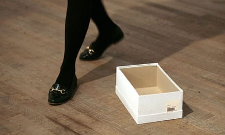 Gabriel Orozco's Empty Shoe Box at Tate Modern.