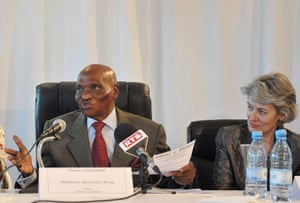 Social Forum: Senegalese president Abdoulaye Wade