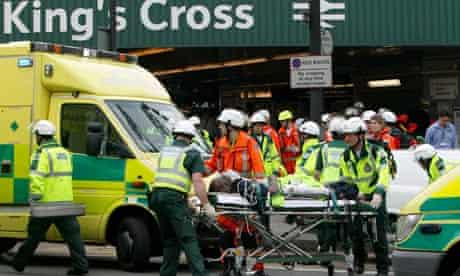 A casualty of the 7 July 2005 London bombings is brought to the surface at King's Cross station