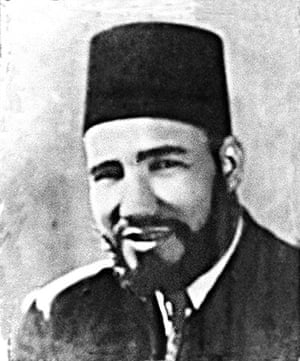 Muslim brotherhood: Hassan al-Banna, founder of the Egyptian Muslim Brotherhood