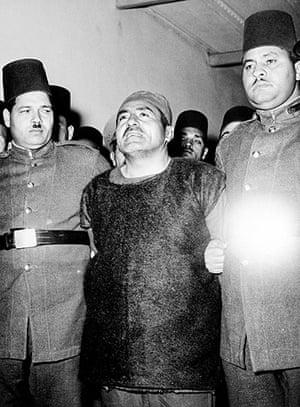 Muslim brotherhood: Abdel Kader Oda executed in Egypt, 1954