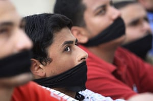 Muslim brotherhood: University students from the Muslim Brotherhood in 2008