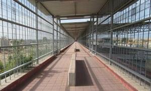 The Erez crossing between Israel and Gaza.