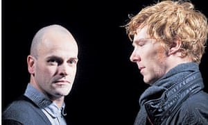 Jonny Lee Miller and Benedict Cumberbatch
