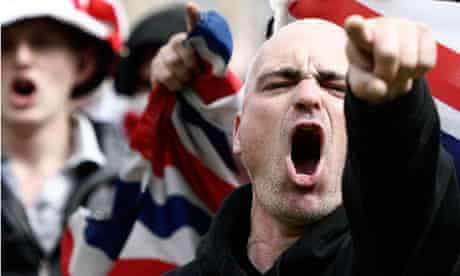 The English Defence League Hold City Centre Demonstration