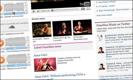 Guardian content is included on Anna Calvi's SXSW listings page