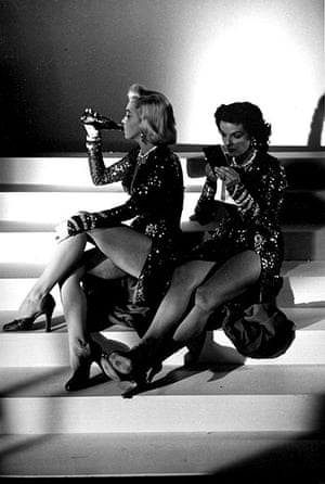 jane russell: Marilyn Monroe and Jane Russell