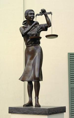 Representing Justice: 10 - Lady ofJustice, USVI