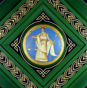 Representing Justice: Justice, ceiling ornament