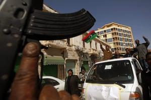 Libya:  funeral of a Libyan man in Benghazi