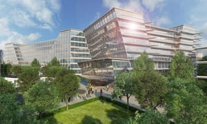 Artist's impression of new Royal Liverpool Hospital