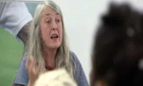 Mary Beard teaching Latin at Jamie's Dream School