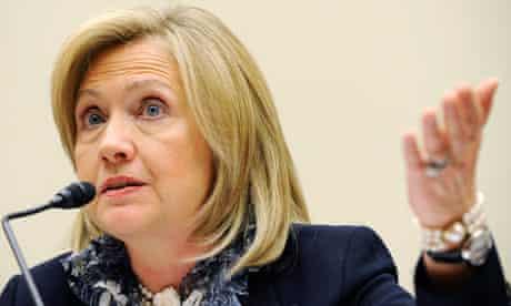 Clinton testifies libya
