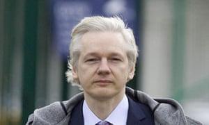 Julian Assange guardian jewish conspiracy