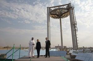 Masdar City: US Secretary of State Hillary Clinton vi