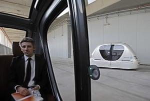 Masdar City: Driverless vehicle